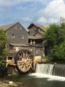 One of our favorite restaurants; beautiful spot in Pigeon Forge