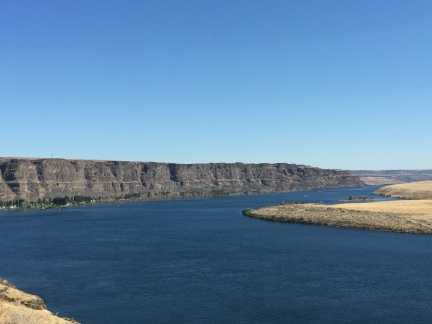 Columbia River...Near Quincy Washington